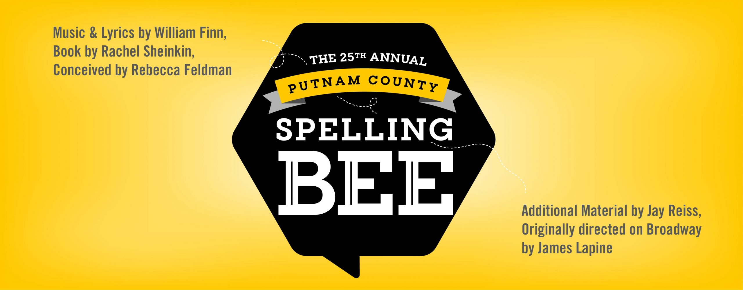 ACTORS 25th Annual Putnam County Spelling Bee