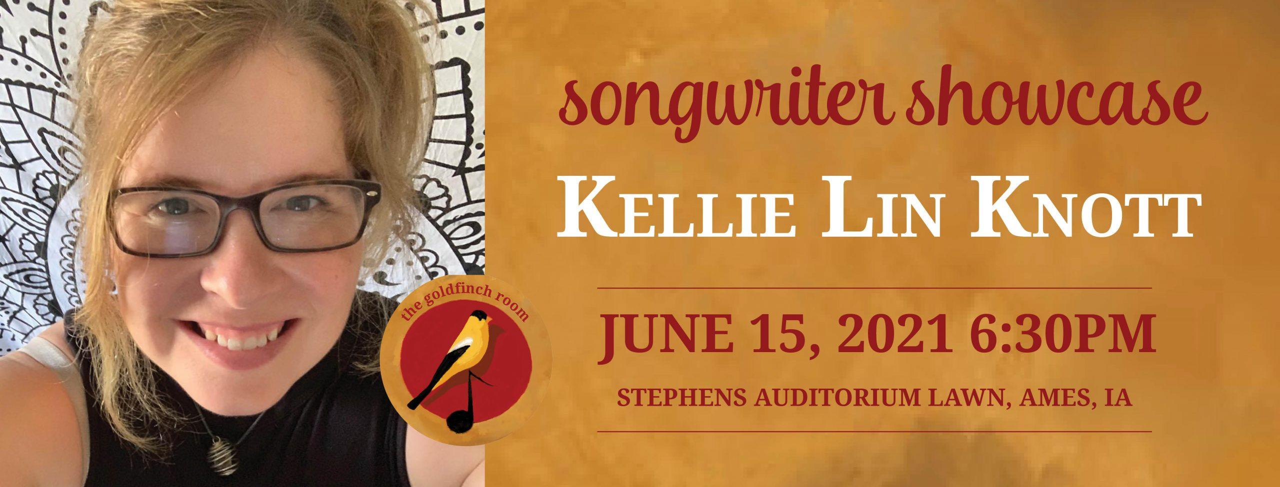 Kellie Lin Knott on June 15 at 6:30pm at Stephens Auditorium