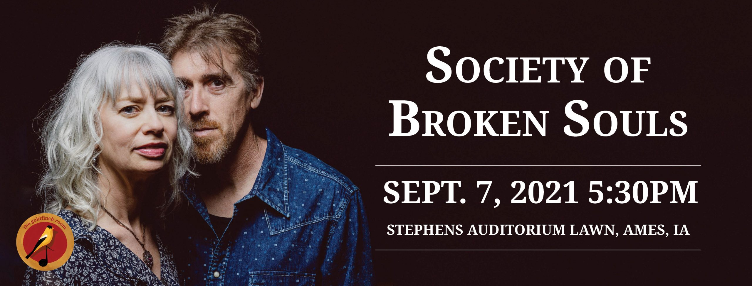 Society of Broken Souls at the Goldfinch Room